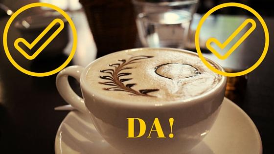 da pentru cafea