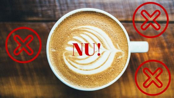 nu pentru cafea