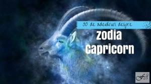 30 de adevaruri despre zodia Capricorn