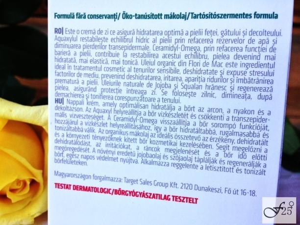 Review Crema de fată cu mac de la gerovital farmec
