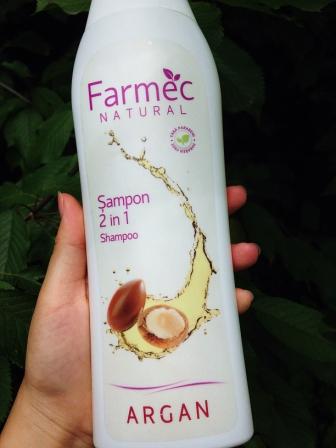 review sampon cu argan farmec natural