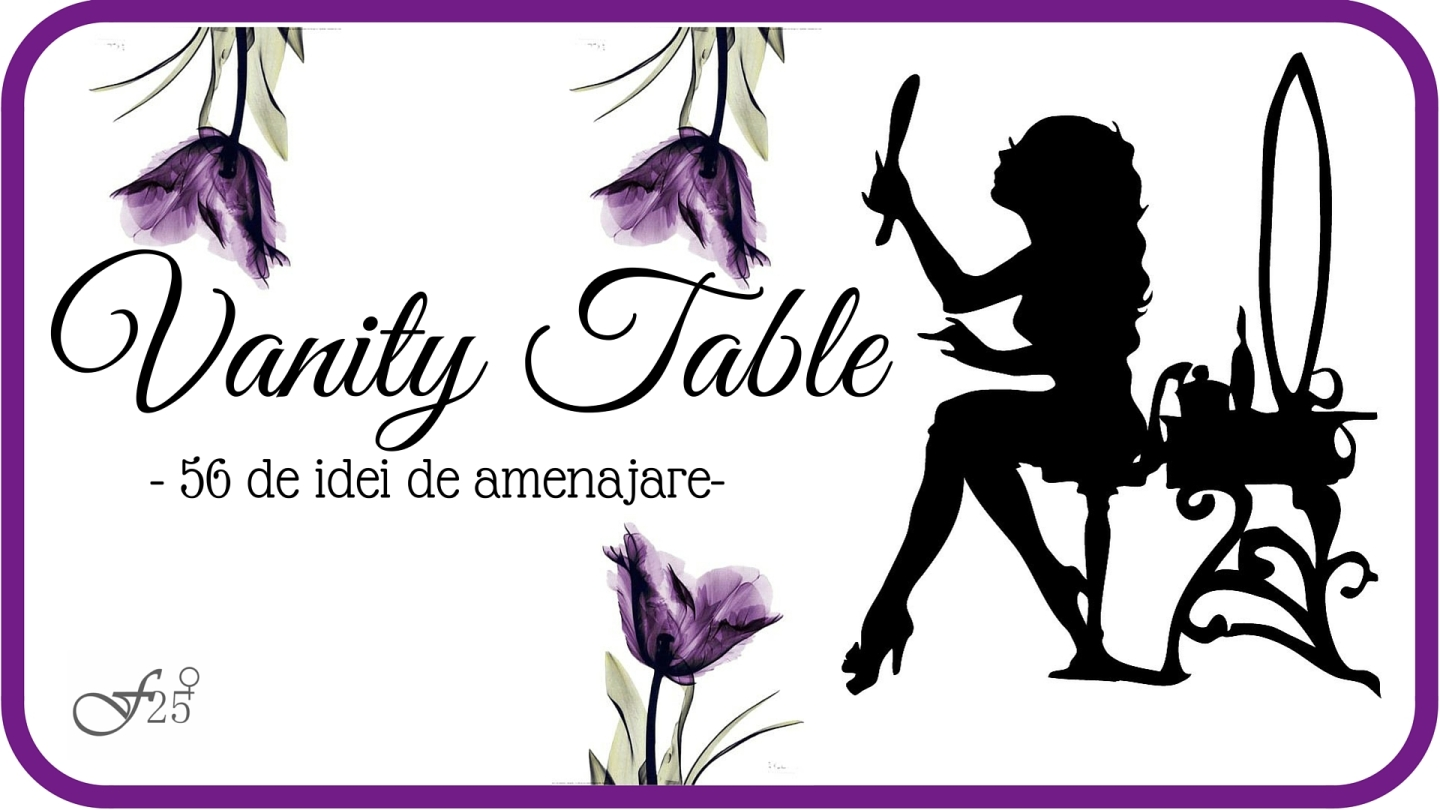 vanity table 56 de idei de amenajare