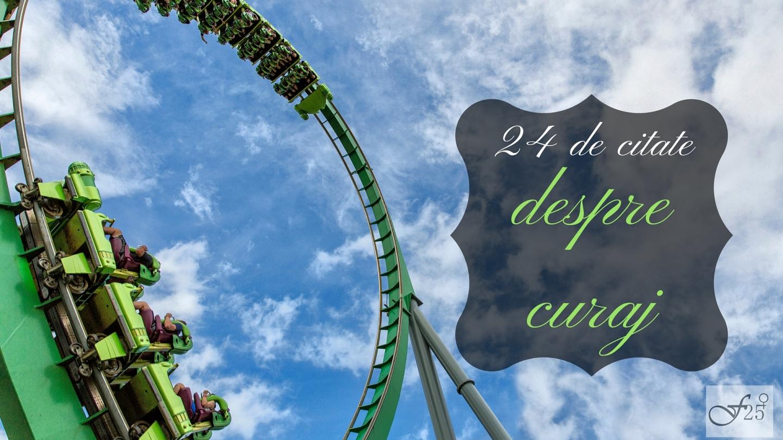 24 de citate despre curaj