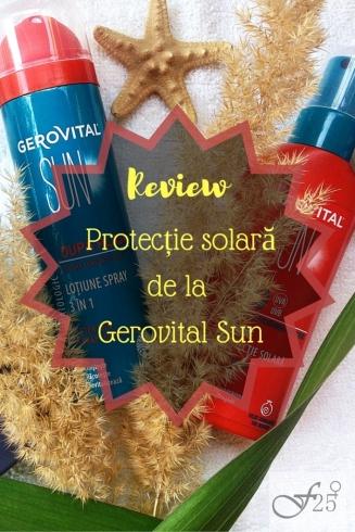 review protectie solara de la gerovital sun