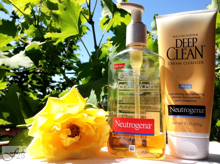 review deep clean cream cleanser si oil-free acnee wash de la neutrogena