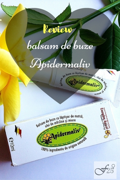 review balsam de buze apidermaliv