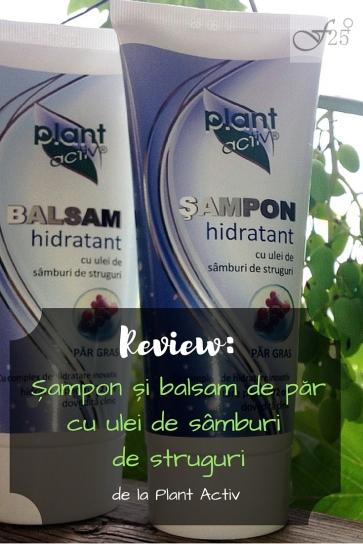 review sampon si balsam cu ulei de sâmburi de struguri de la plant activ