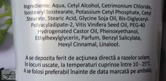 review balsam cu ulei de struguri plant activ etera cosmetice